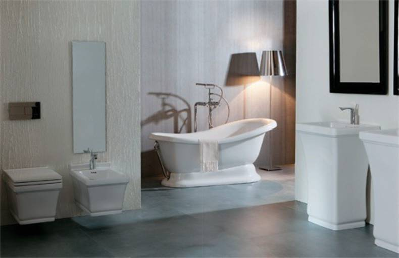 Contemporary classic bathroom design by Designo Ceramica