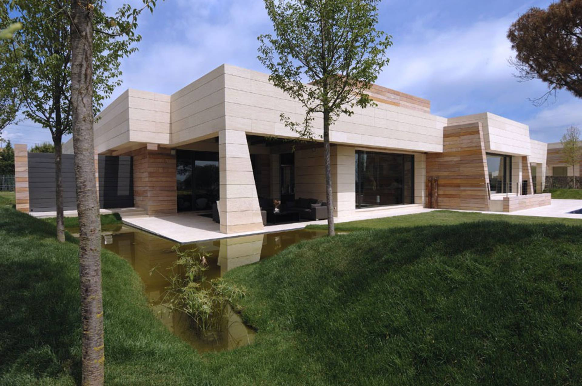 House design hilly area -  Contemporary House Design By A Cero La Finca Ii