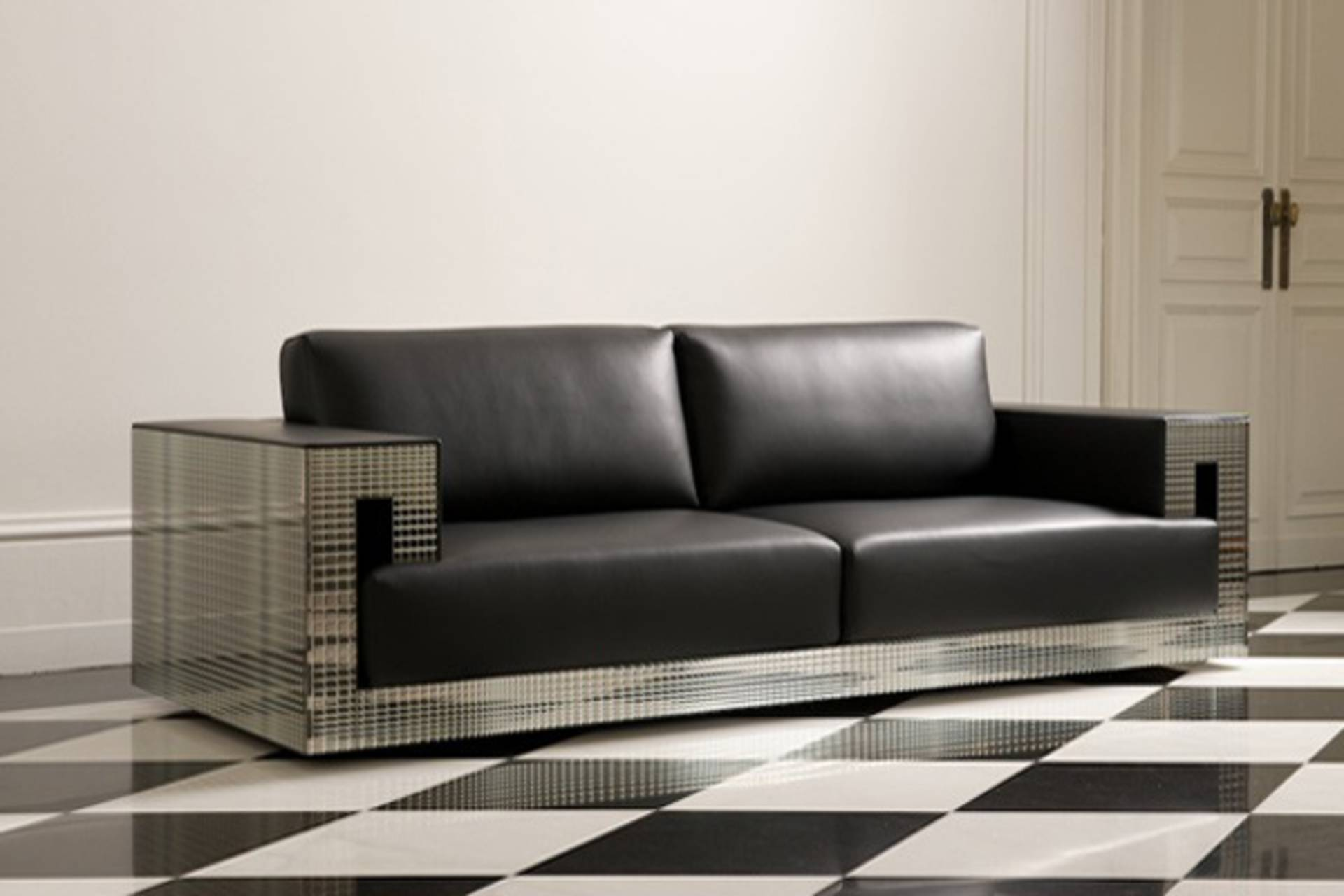 versace sofa collection for your living room home reviews. Black Bedroom Furniture Sets. Home Design Ideas