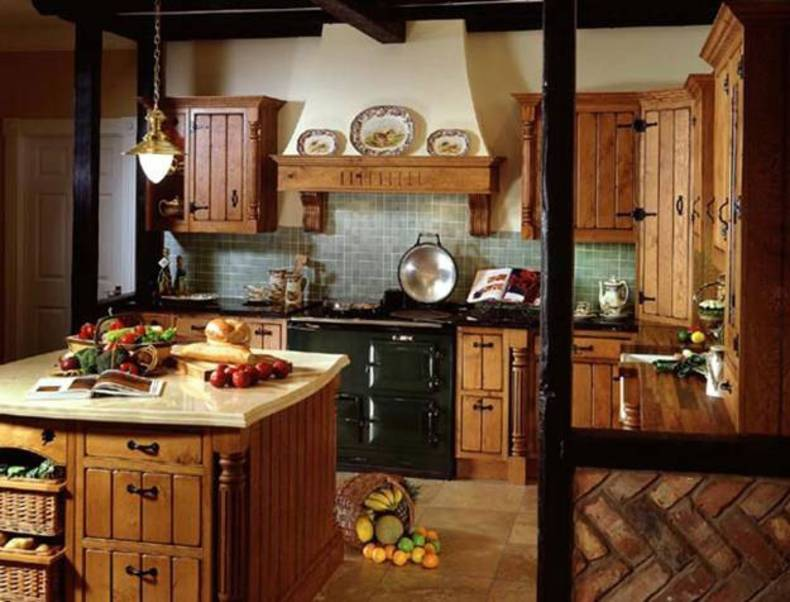 Cozy Interior With Country Style Home Reviews