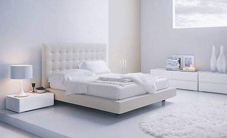 Bedroom Design Ideas: Contemporary White Bedrooms