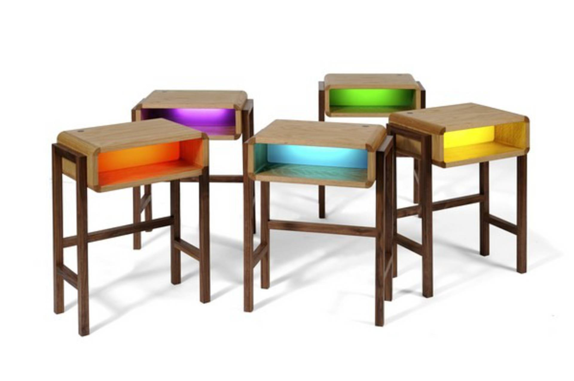 two in one furniture. Contemporary Two In One Bedside Table And Night Light Furniture F