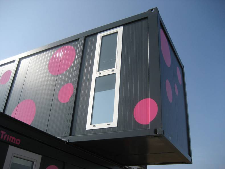 Bright Container House by Jure Kotnic Architect
