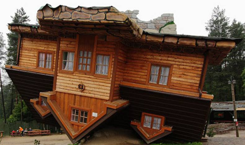 Unusual Projects: Upside Down Houses