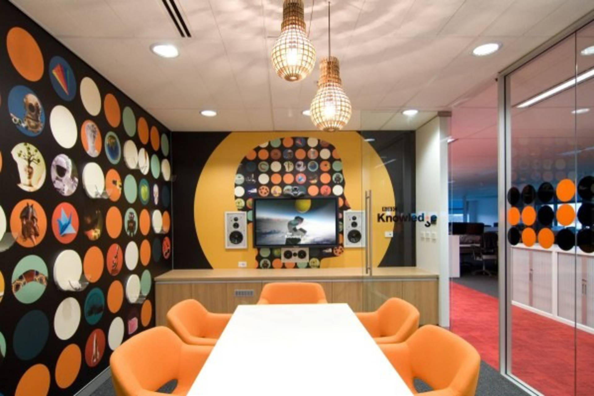 Wonderful Creative BBC Worldwide Office Design By Thoughtspace