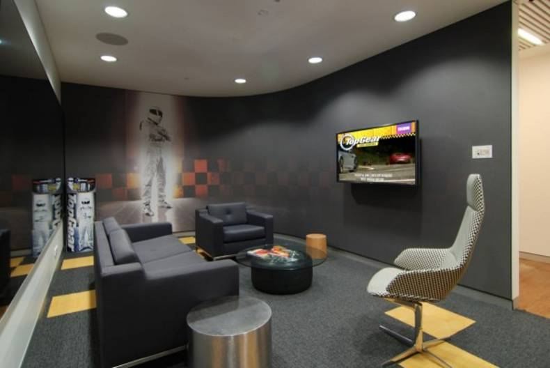 Creative BBC Worldwide Office Design by Thoughtspace