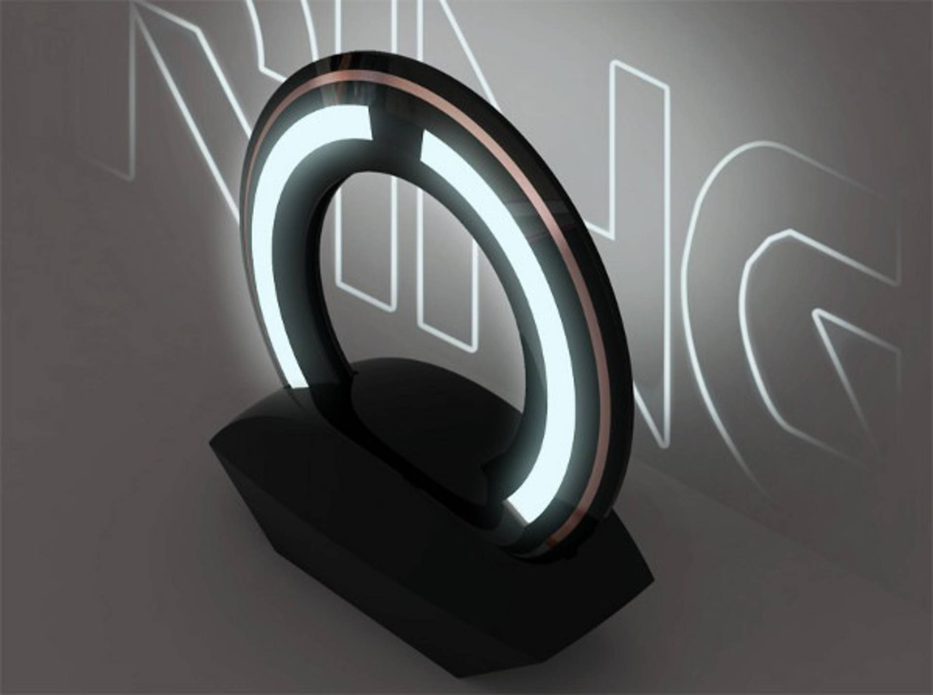 Superior Surreal Ring Lamp By Loris Bottello: Turn On The Future Photo