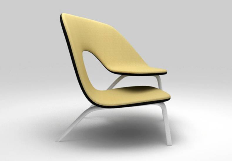 Ilian Milinov's Hug Chair: Perfect for the Couples