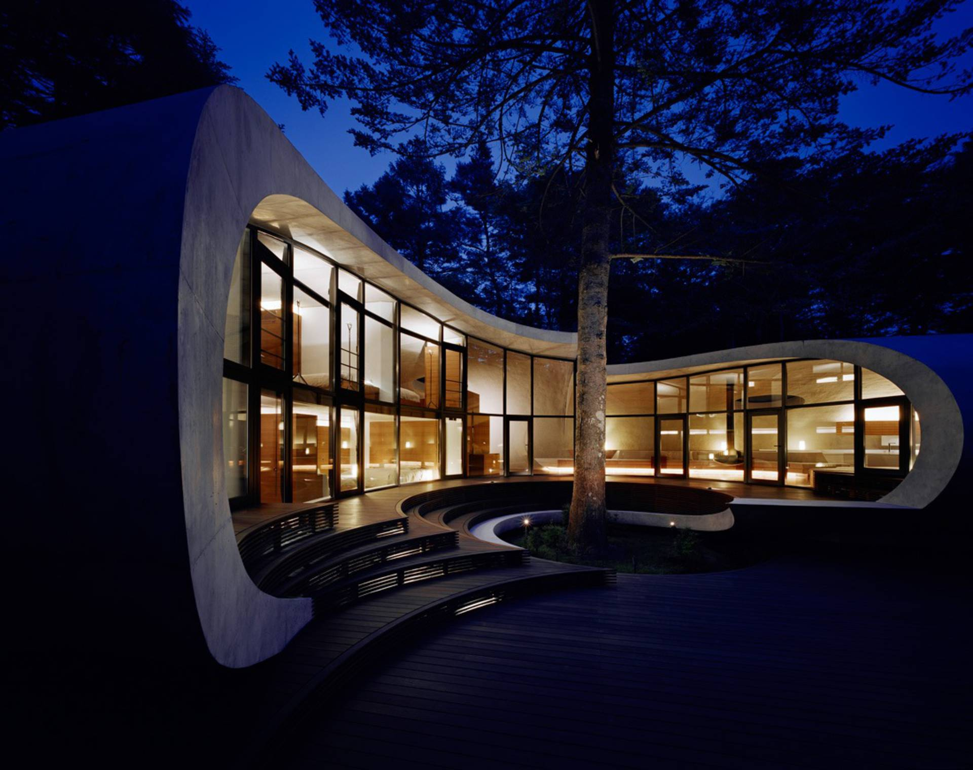 The shell house in the forest by artechnic architects for House shell cost