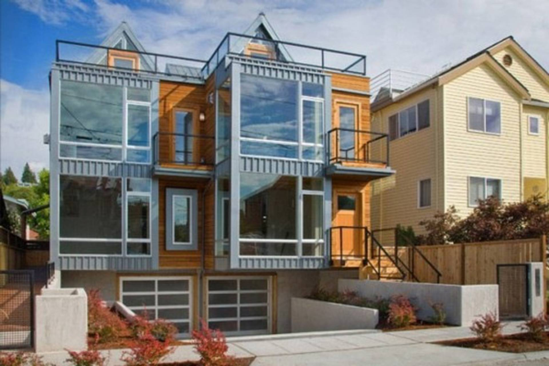 High Quality Alki Townhomes In Seattle By Johnston Architects ... Design Ideas