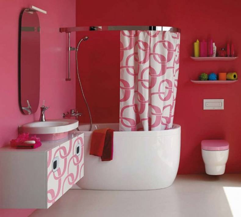 Mimo Bathroom Collection By Laufen: May Be Pink?