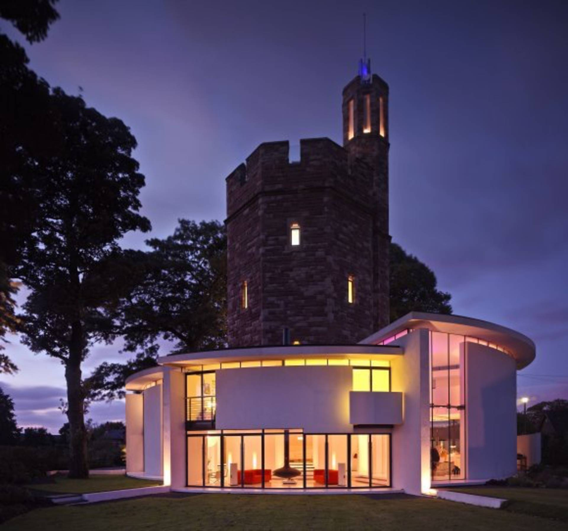 Water Tower Home A Modern Castle Lymm Water Tower House By Ellis Williams