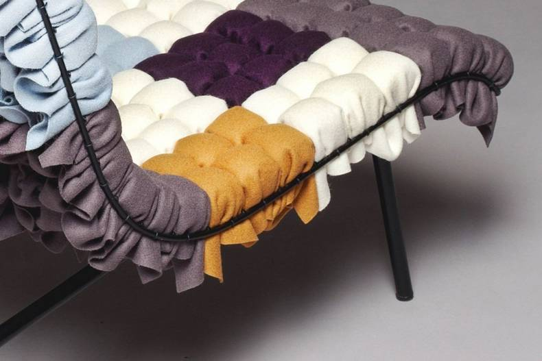 The Mosaiik Patchwork Chairs Inspired by Corncobs from Annika Goransson