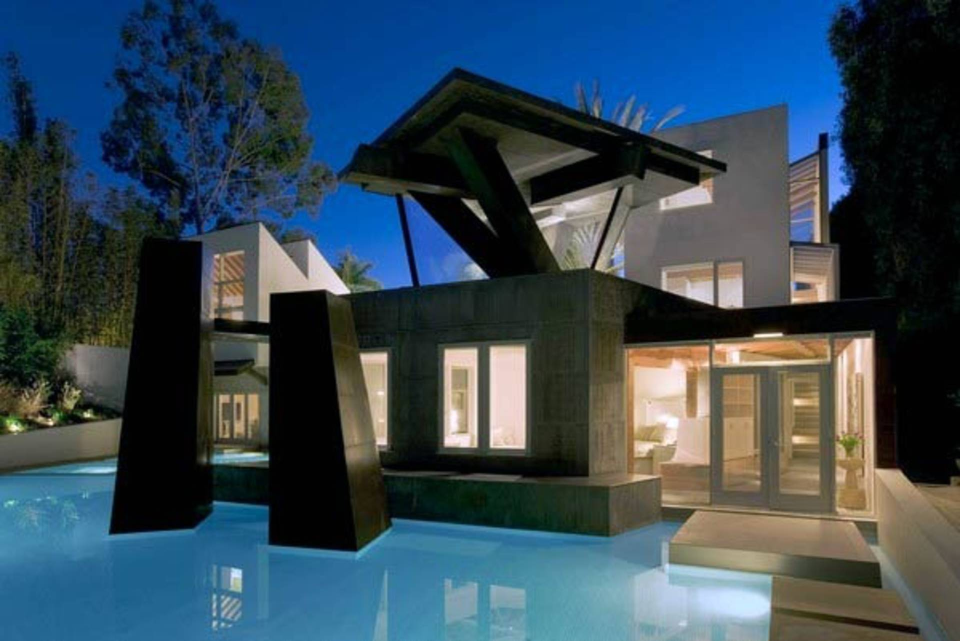 Gorgeous Schnabel House By Frank Gehry Home Reviews