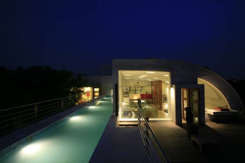 Number 85 – Cool Residence in India by Morphogenesis