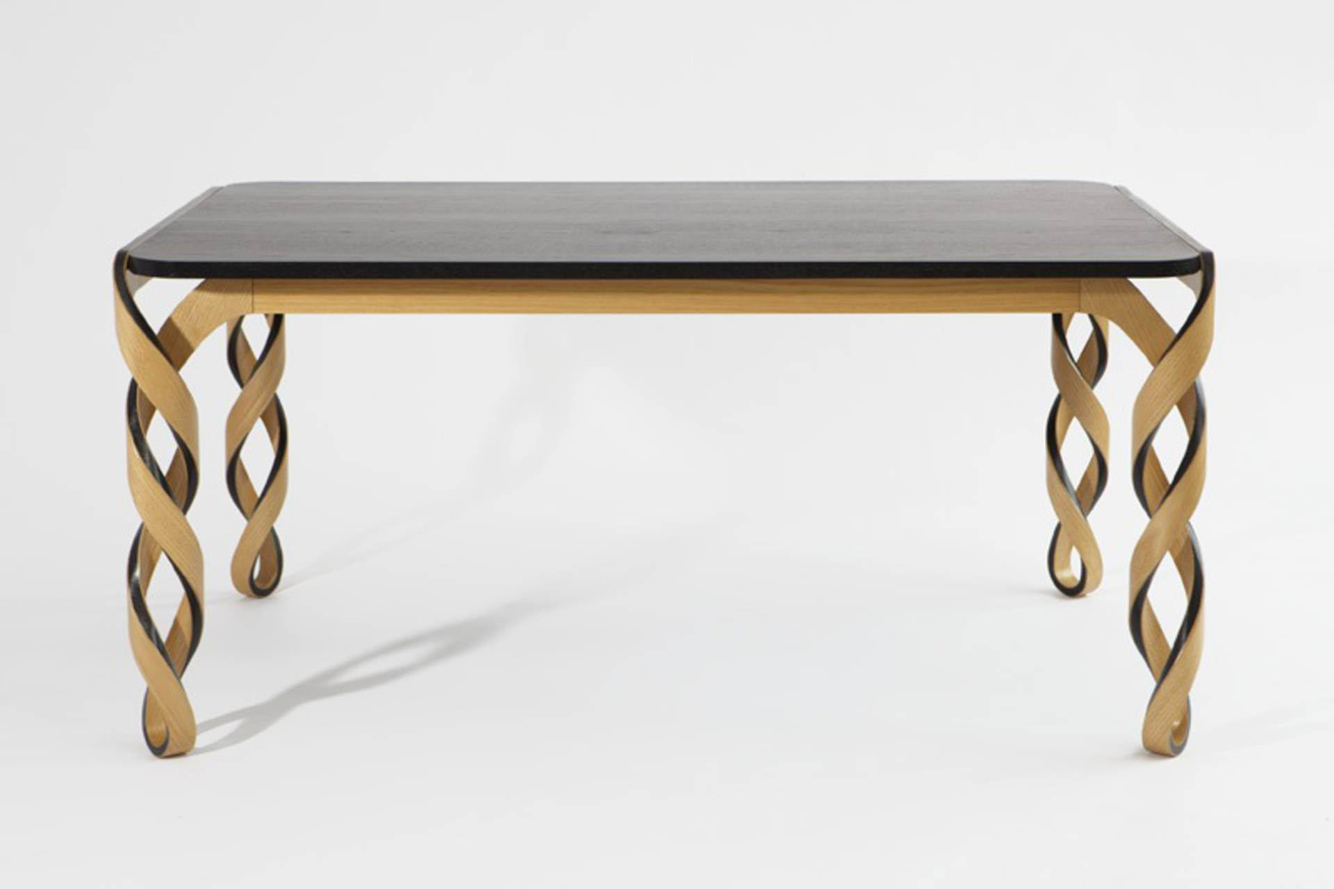 Watson Table with DNA shaped Legs by Paul Loebach Home Reviews