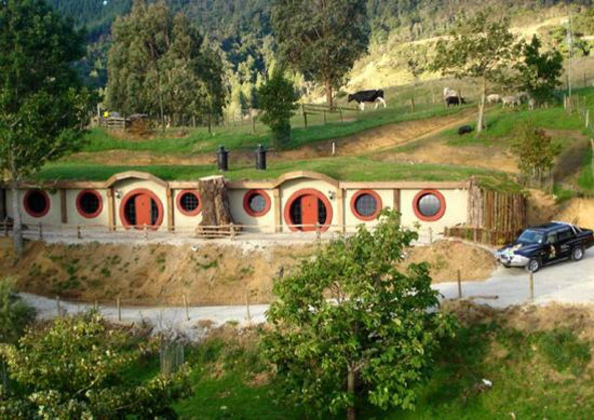 Unique hobbit motel in new zealand home reviews for Hobbit style playhouse