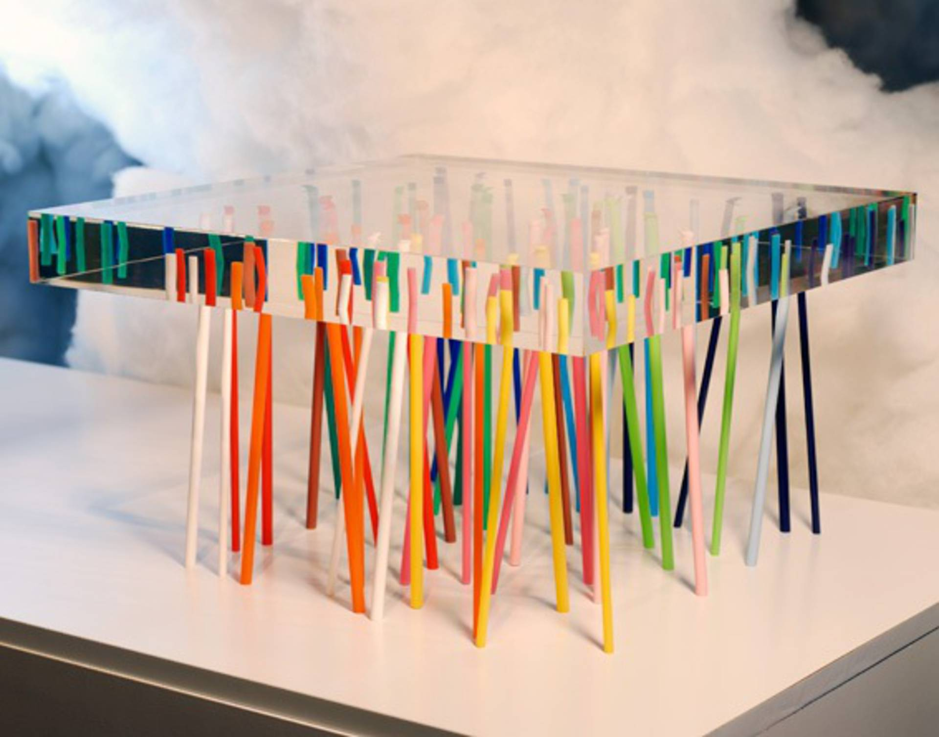 Unusual shibafu table by emmanuelle moureaux architecture and design home reviews - Architecture and design ...