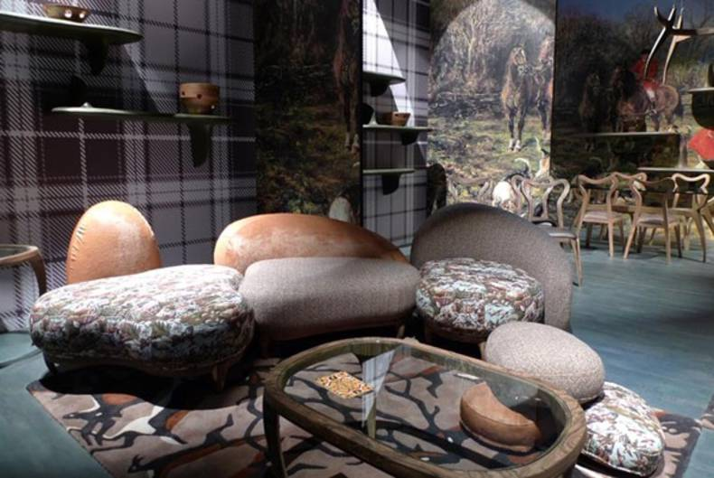 Nature Inspired Animalia furniture collection by Fratelli Boffi