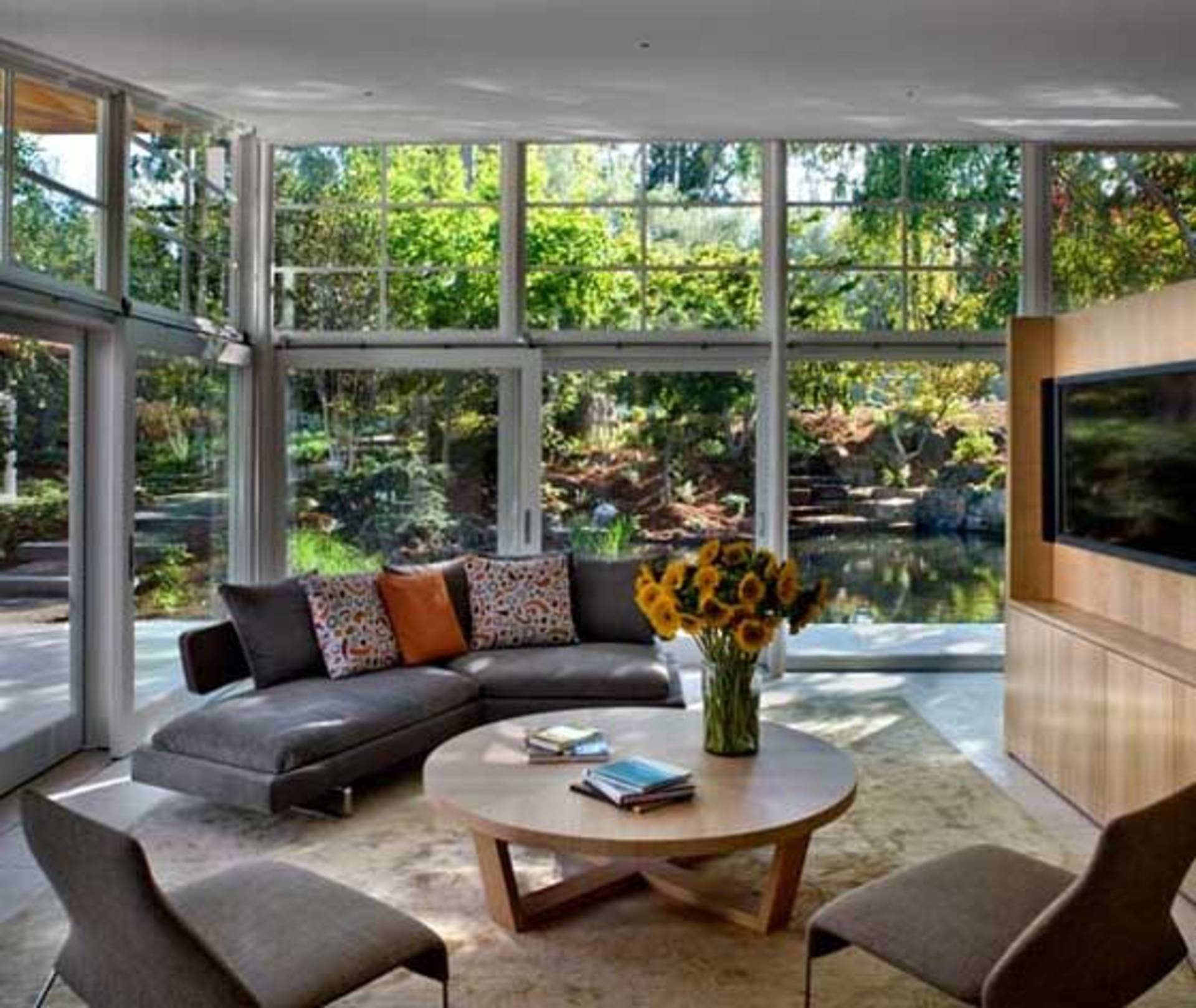 beautiful atherton residence by turnbull griffin haesloop