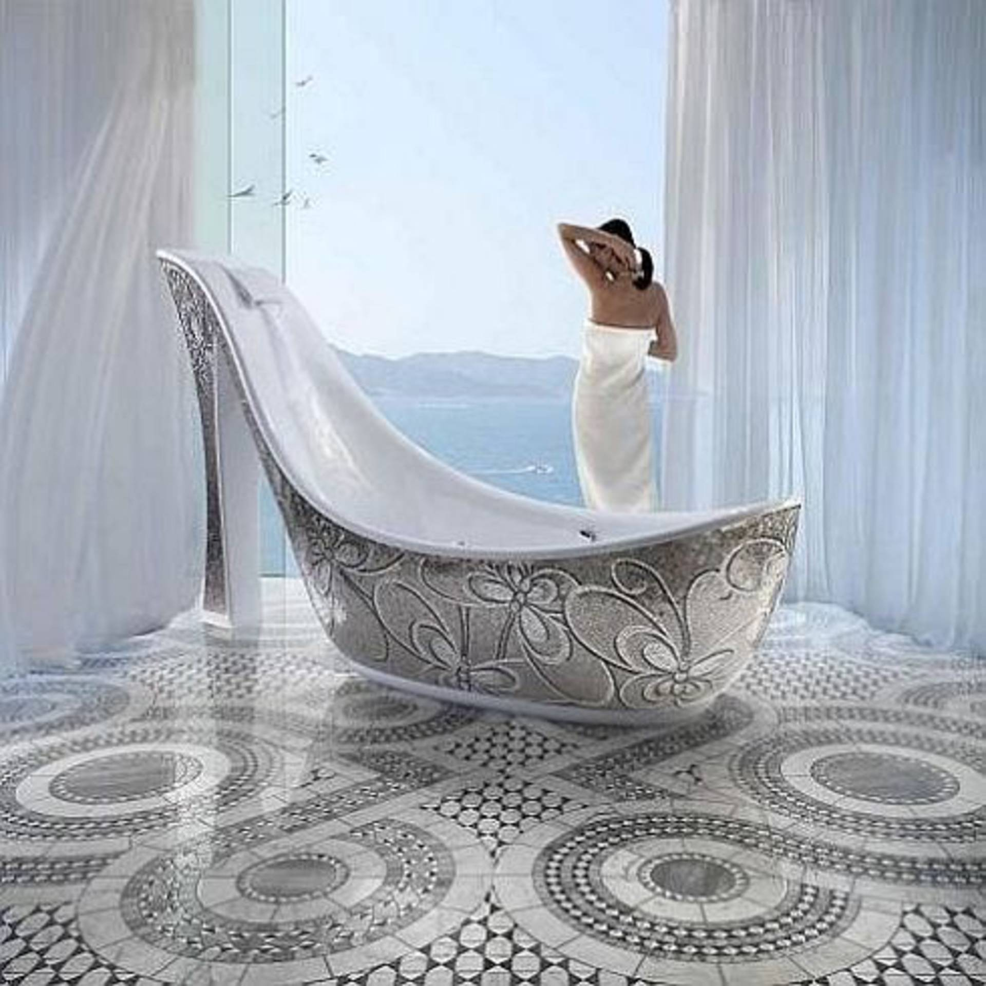 Exclusive Shoe Bathtubs by SICIS: for Real Ladies - Home Reviews