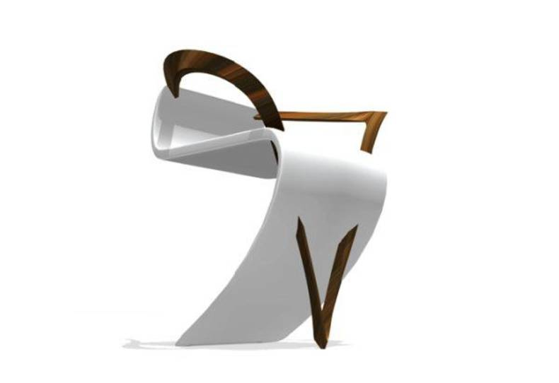 LaRoche Chair by Milla Rezanova: Challenge to the Law of Gravity
