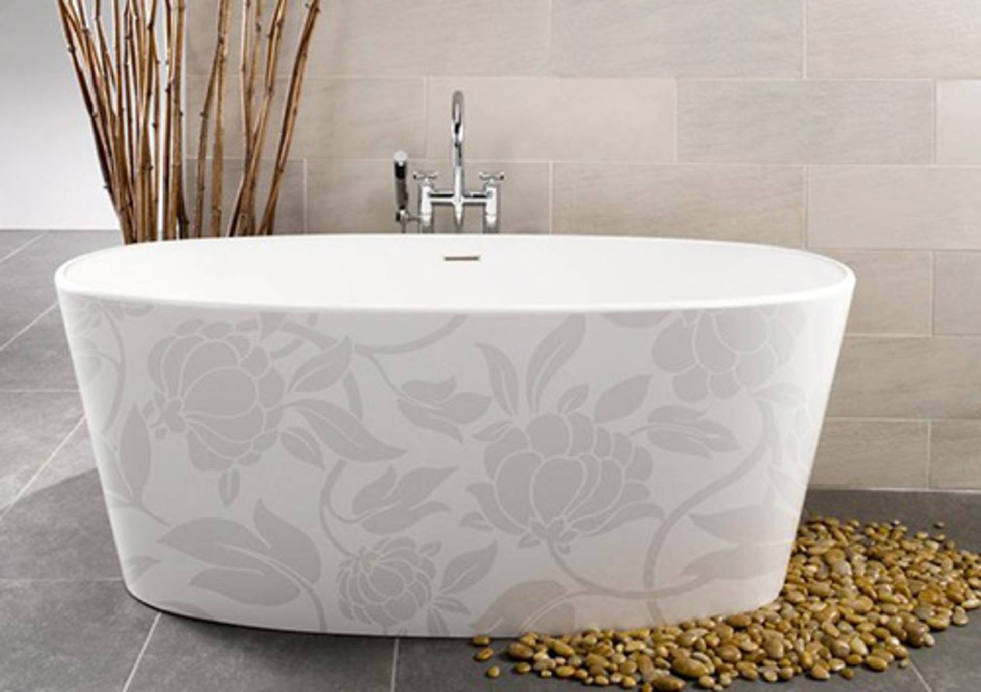 Luxury Image In Motif Bathtub Collection By WetStyle