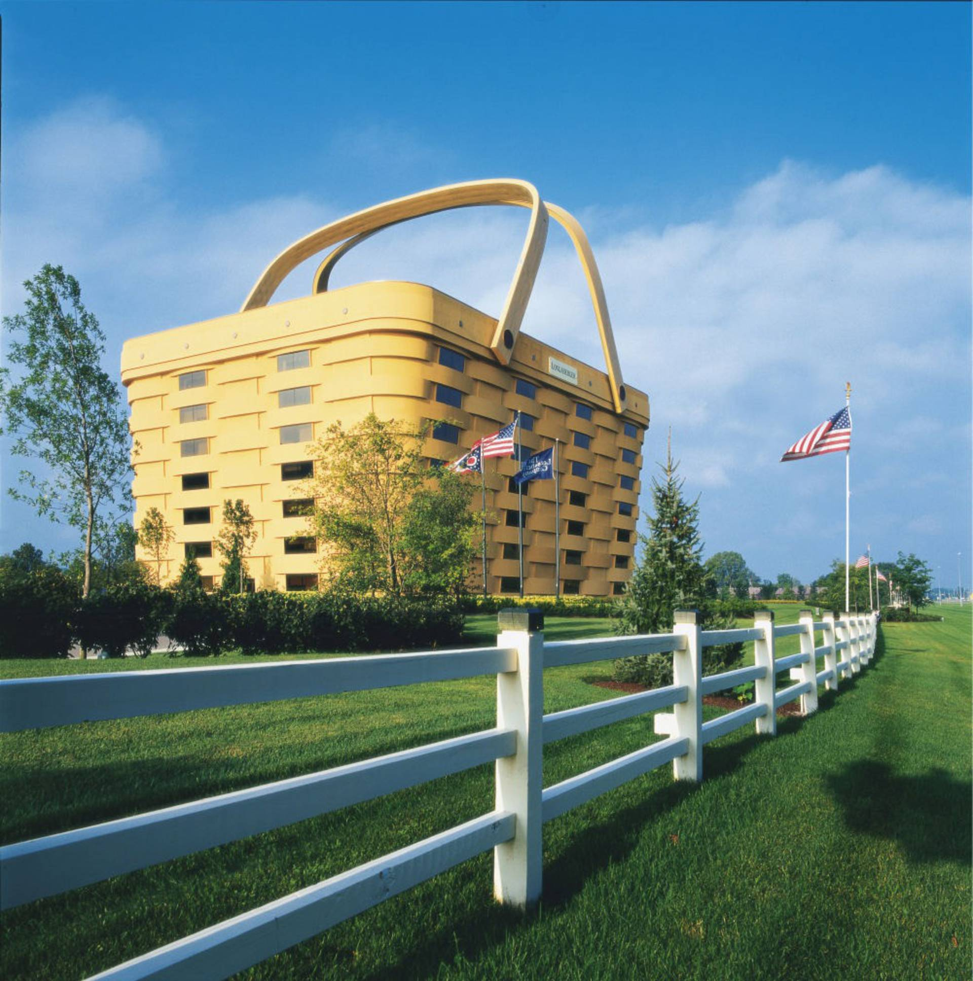 ... The Longaberger Company In Newark, Ohio, United States: The Basket  Building Gallery