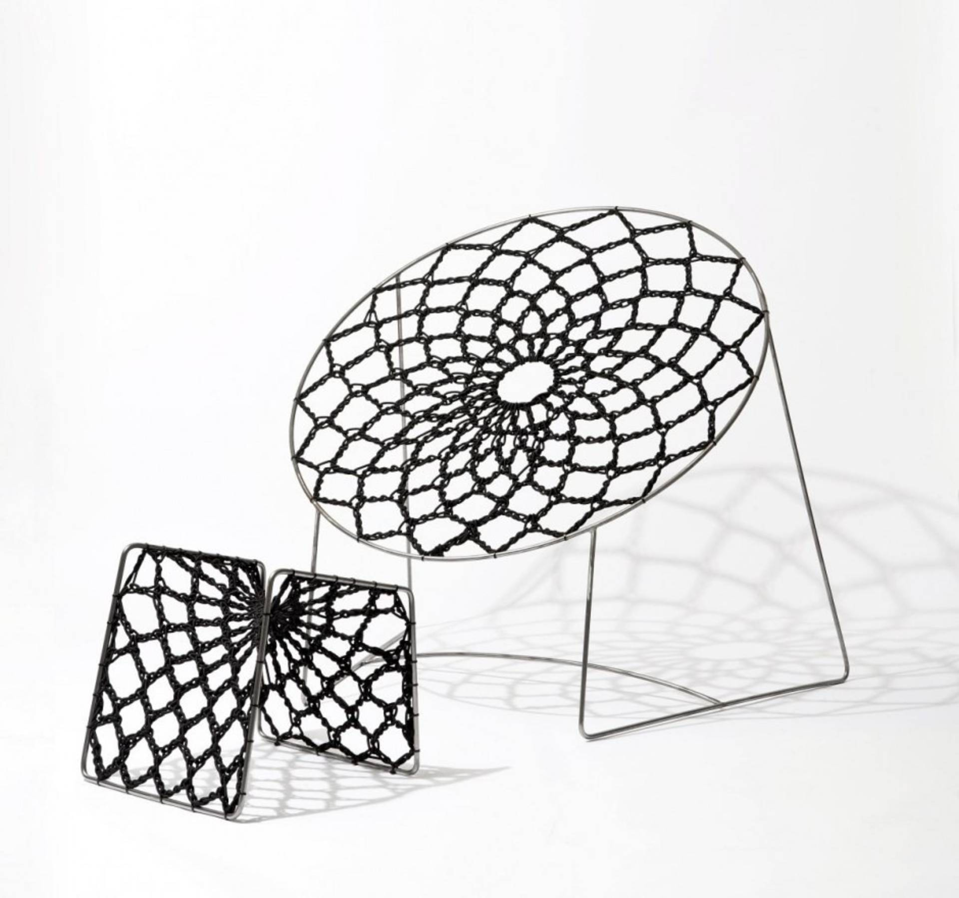 The NOOK Chair U0026amp; Foot Stool By Henry Sgourakis
