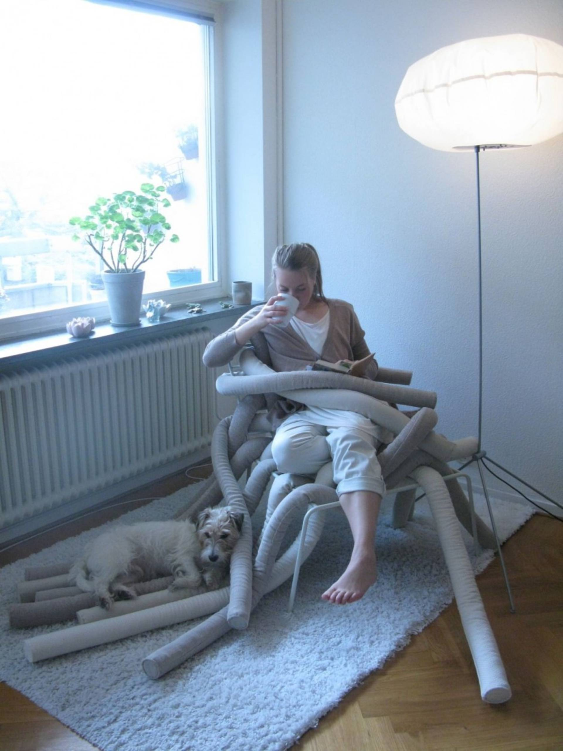 The Tubeme Chair By Ellinor Ericsson Create Your Own Cozy