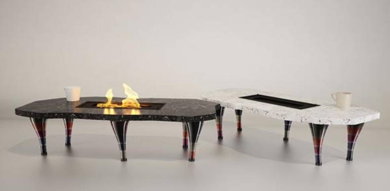 Three Absolutely Different Stylish Fireplace Designs by Flying Cavalries