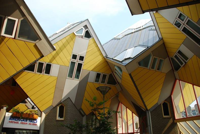 Unusual Projects: Cubic Houses in Rotterdam, Netherlands