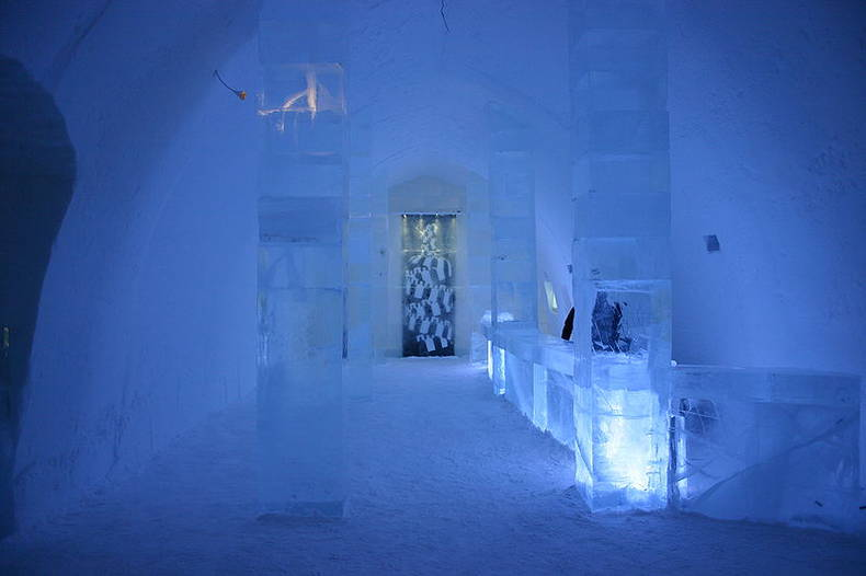 Unique Ice Hotel in Sweden
