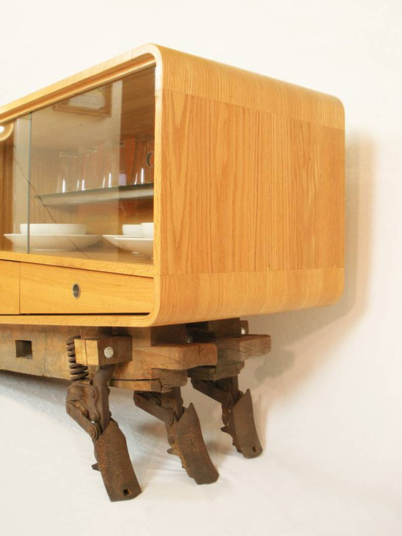 an unconventional furniture piece coban buffet by gitane