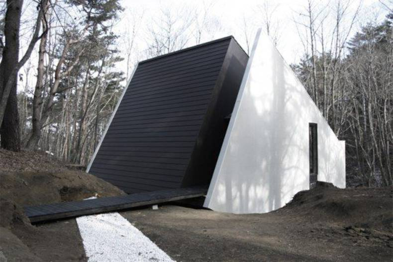 Modest C2 Yamanashi House in the Forest