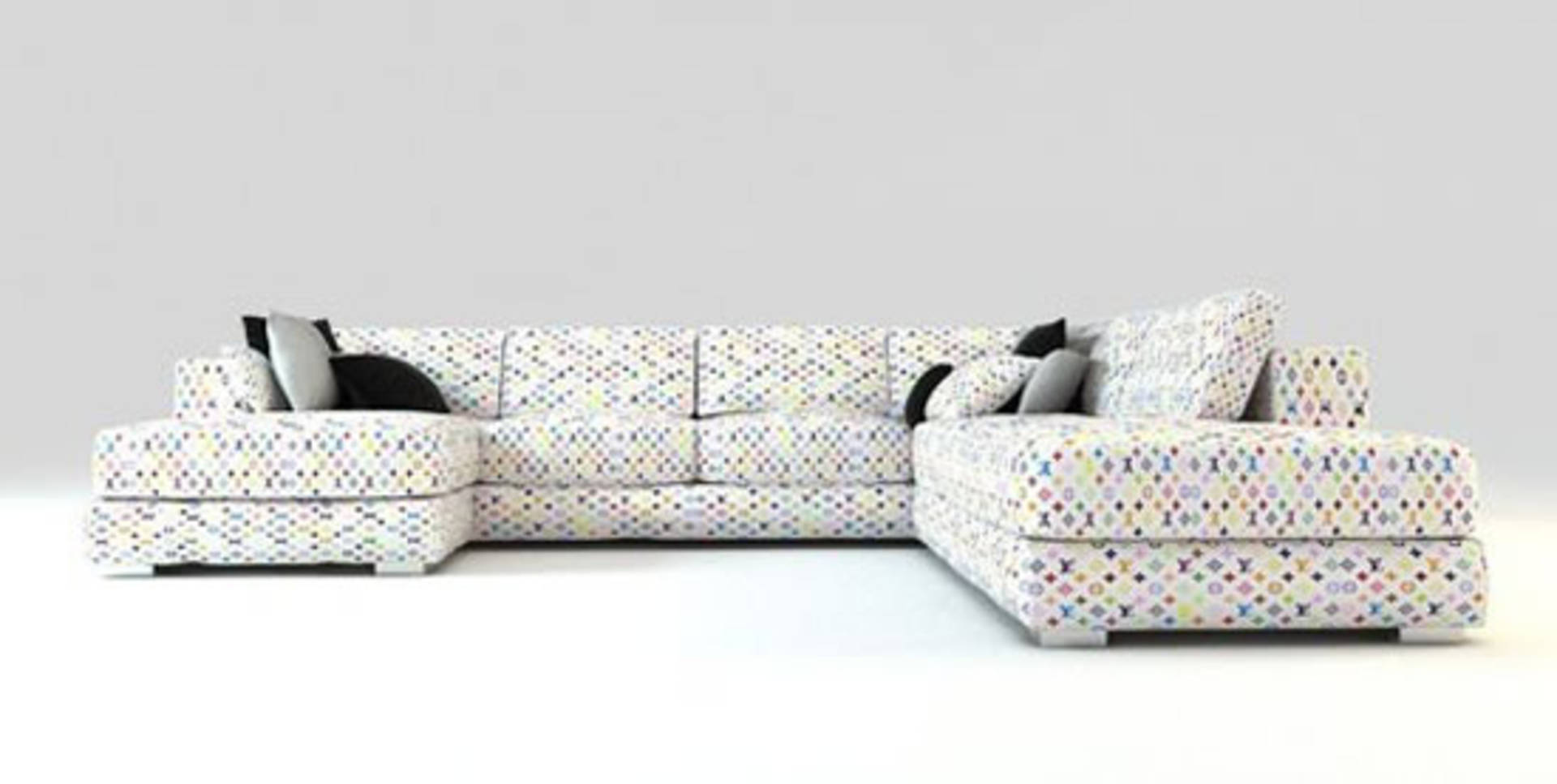 Surprising Luxury And Glamour Louis Vuitton Sofas By Jason Phillips Creativecarmelina Interior Chair Design Creativecarmelinacom