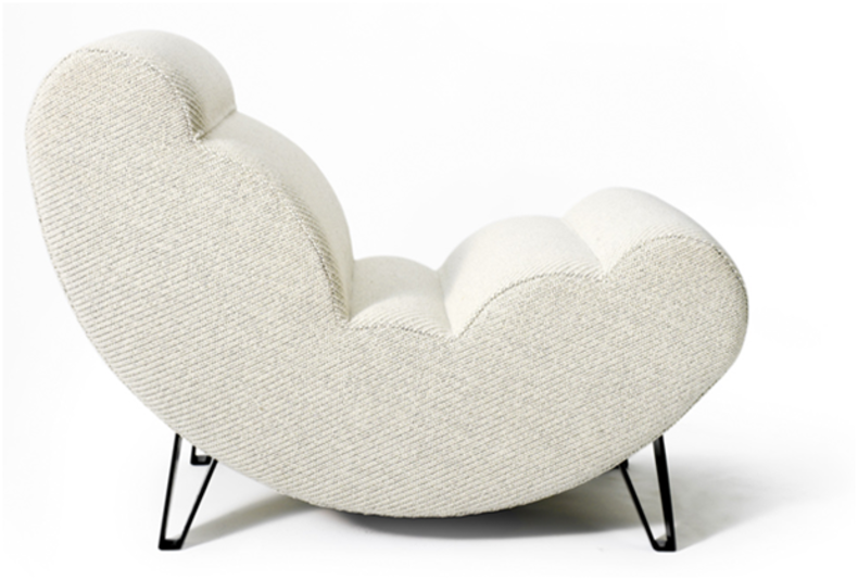 Cloud – an upholstered easy chair by Wis Design