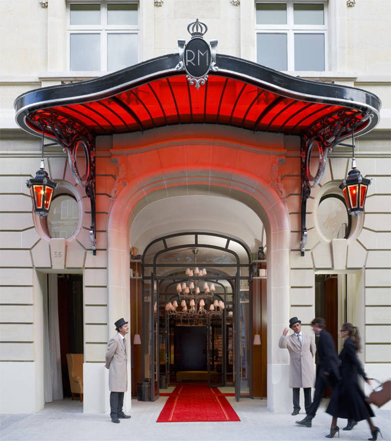 Hotel Le Royal Monceau Palace by Philippe Starck