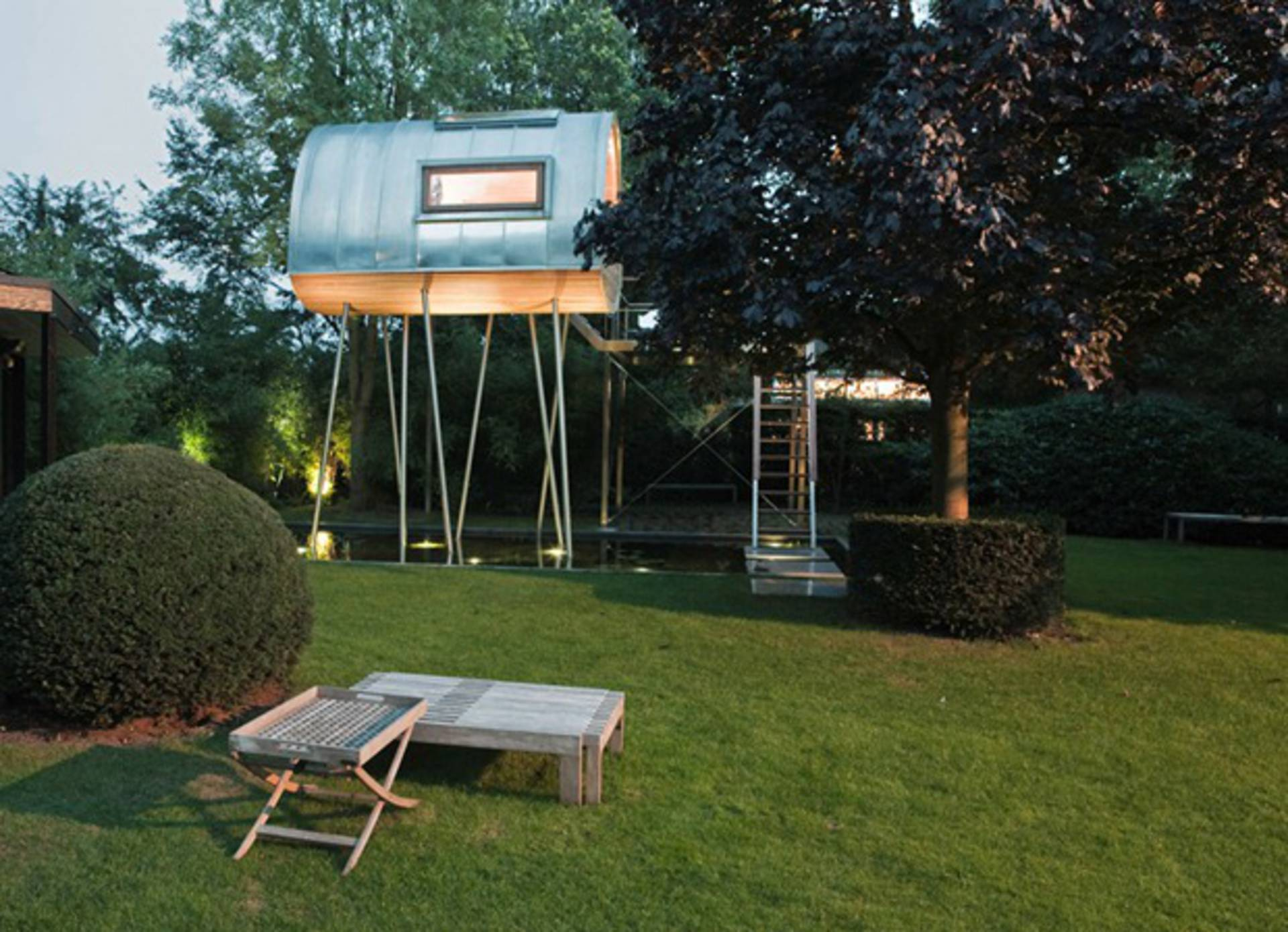 king of the frogs treehouse by baumraum home reviews