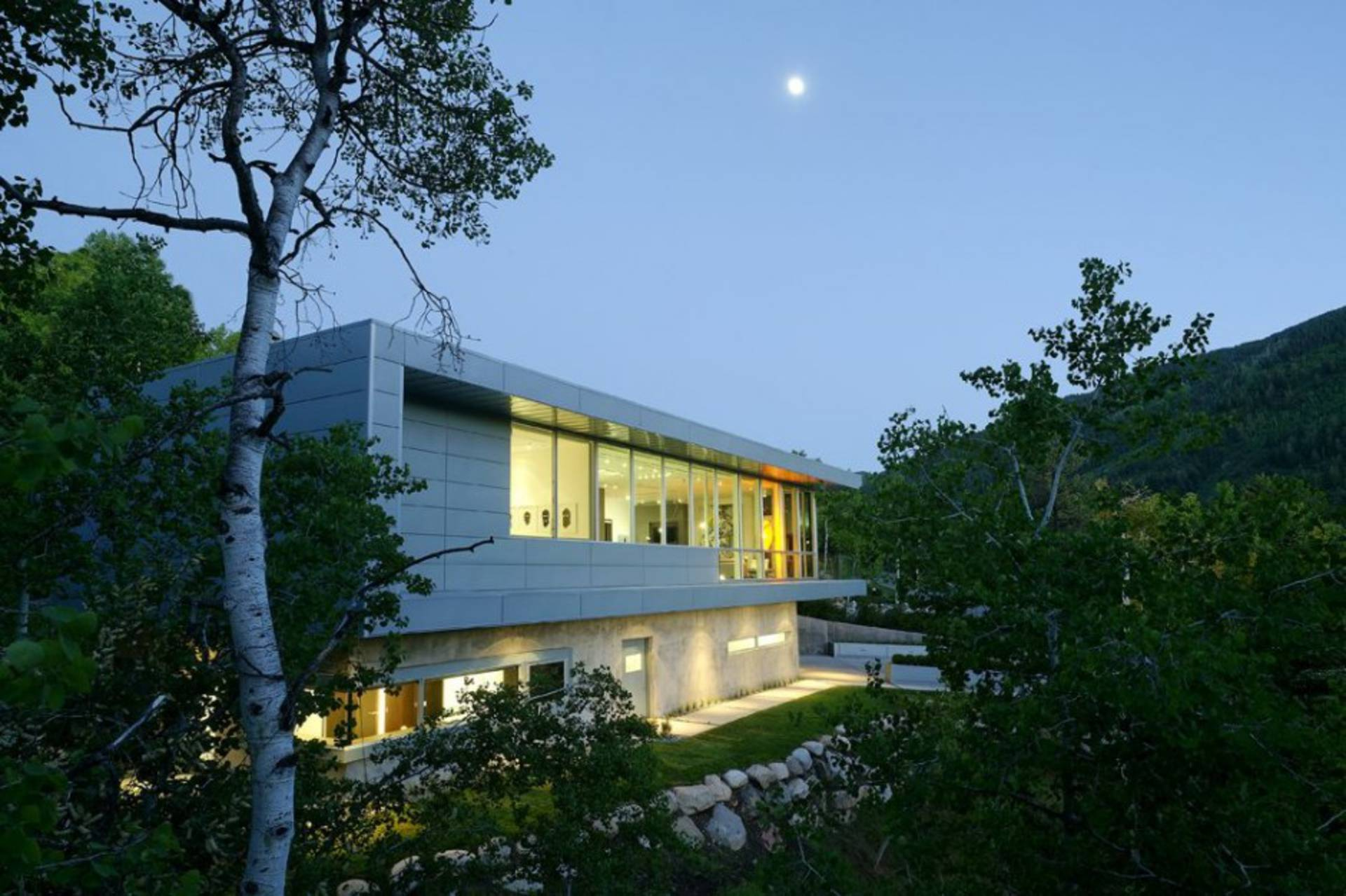 Contemporary Scholl Residence By Studio B Architects ... Design Ideas