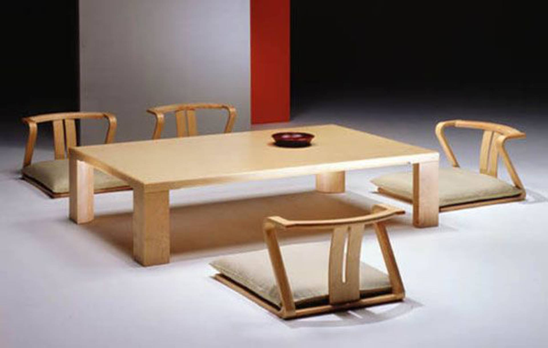 Minimalist dining room furniture by hara design home reviews for Minimalist apartment furniture