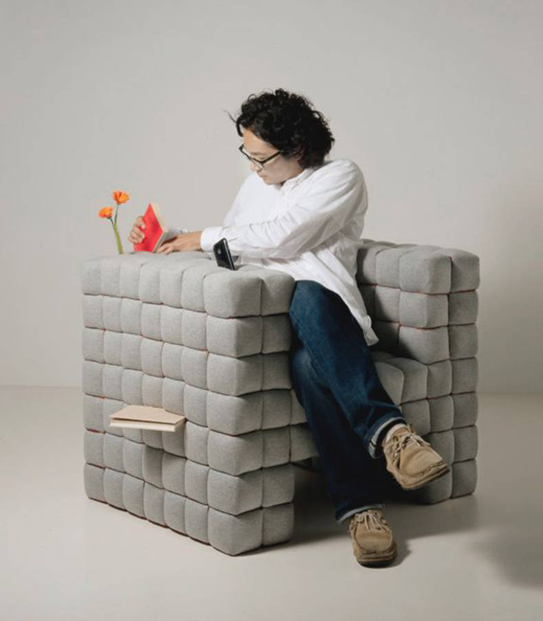Legendary serie up 2000 by gaetano pesce home reviews for Unusual chairs
