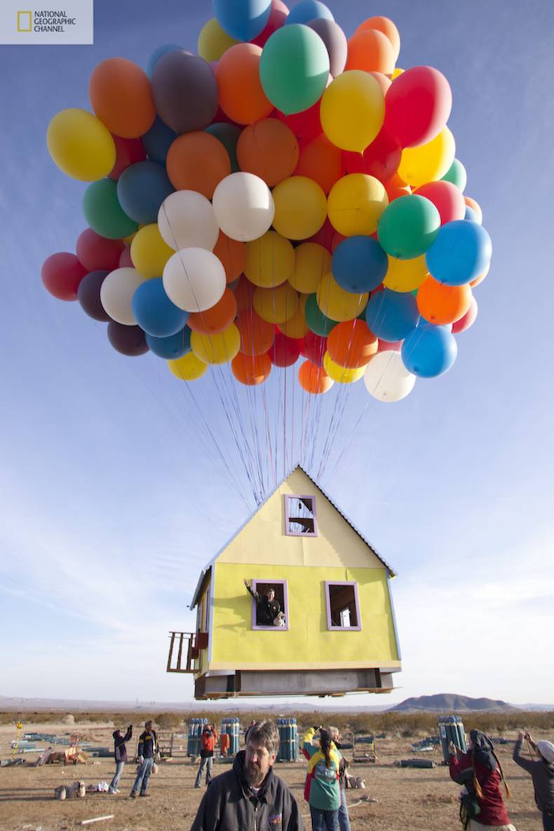 Flying House Inspired by Up Movie