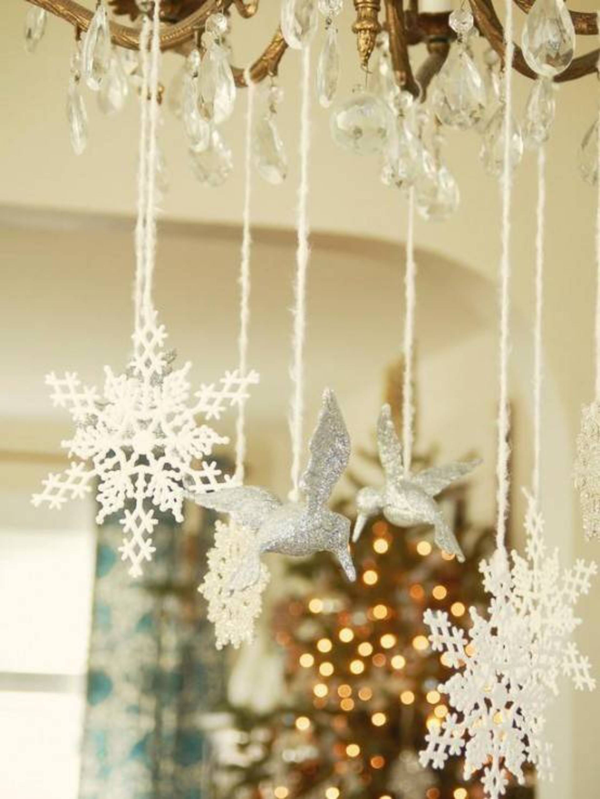 christmas classic decorations full hayneedle pin com white lit clear silver tree from decor pre ft tabletop