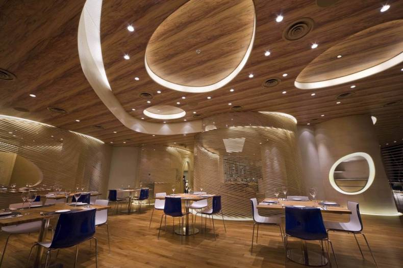 The Nautilus Project Restaurant with Awesome Interior Design by Design Spirits