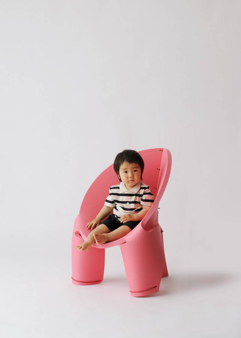 Funny Transforming EVA Chair for Kids