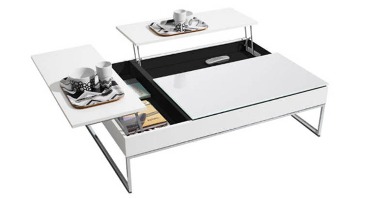 Coffee Table with Hidden Storage Space by Bo Concept