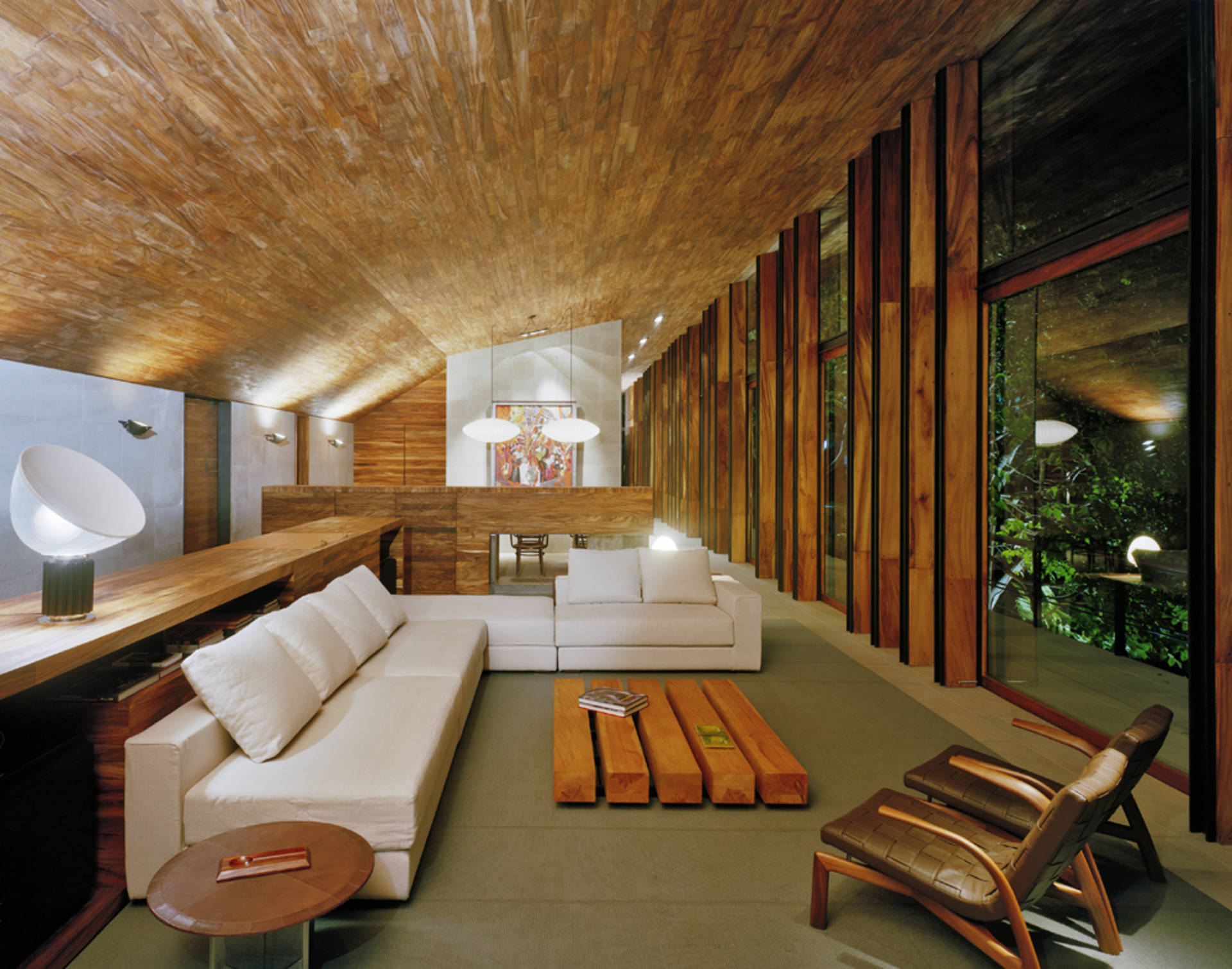 Awesome Solitary House In The Woods By Parque Humano Home Reviews Download Free Architecture Designs Scobabritishbridgeorg