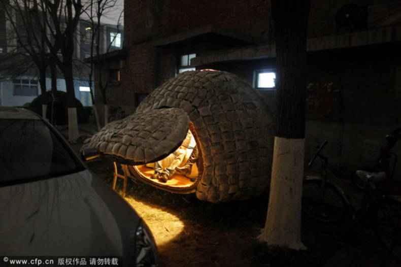 Beijing Egg House for Young Architect