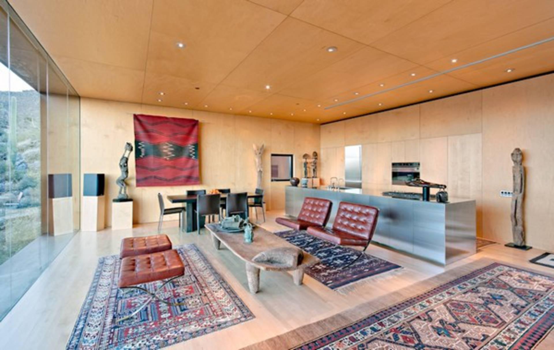 ... Tranquility And Serenity In Desert Nomad House By Rick Joy Architect ...